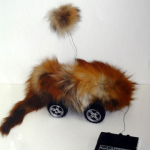 'Nikko' real fur, working toy (35x25cm) 2006
